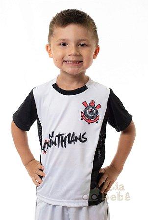 Camiseta Infantil Vai Corinthians Oficial