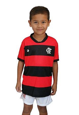 Conjunto Flamengo Uniforme Infantil - Torcida Baby