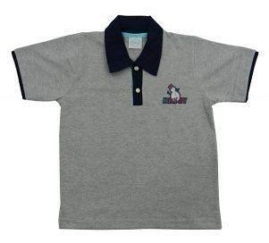 Camisa Polo Tip Top Infantil Azul