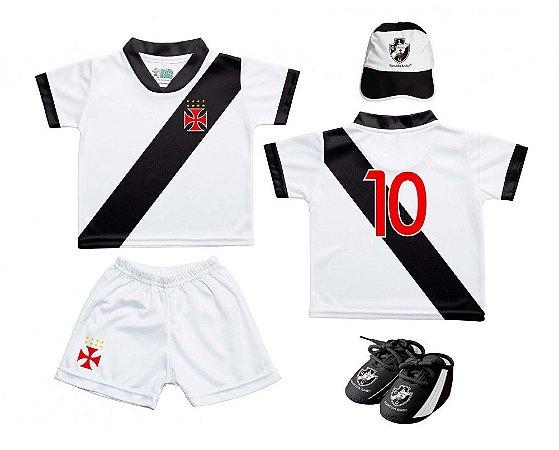 612b065fdc Kit Bebê Vasco 4 Peças Oficial - Torcida Baby