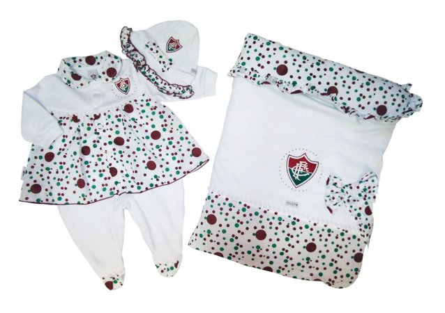 Kit Maternidade Fluminense Luxo Meninas Revedor