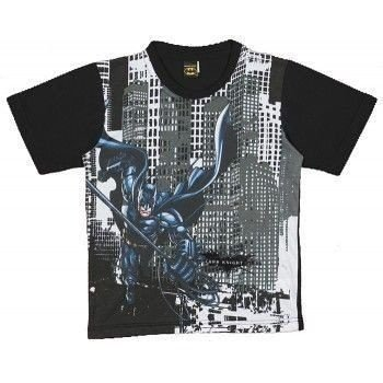 Camiseta Infantil Tip Top Batman Preta