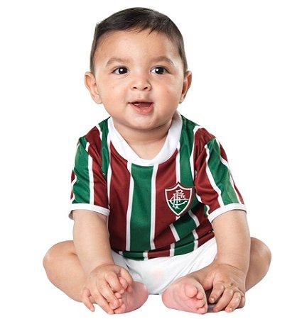 Conjunto Infantil Uniforme Fluminense Dry - Torcida Baby