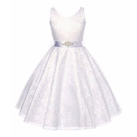 Vestido Infantil Festa Casamento Florista Branco