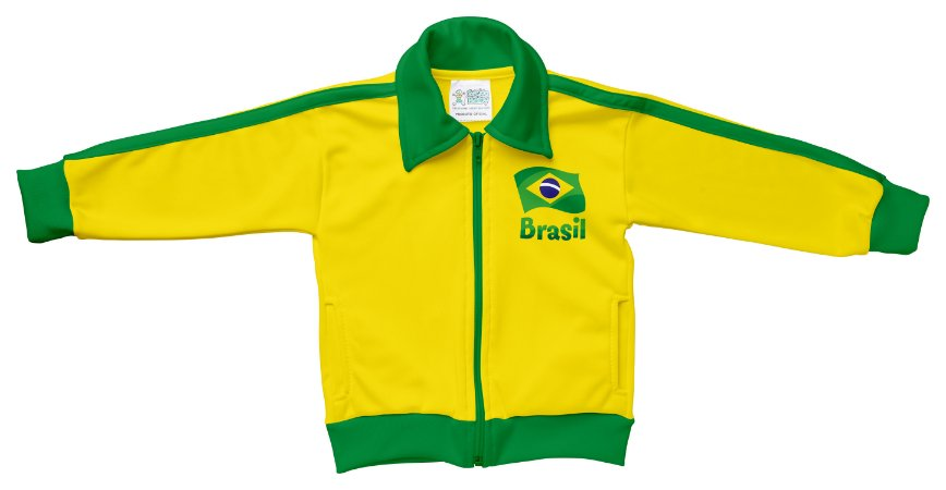 Jaqueta Bebê Brasil New Sport - Torcida Baby