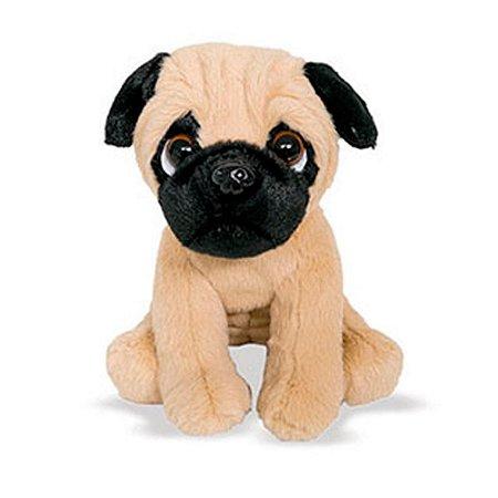 Pelúcia Cachorro Mini Pug 23cm Buba