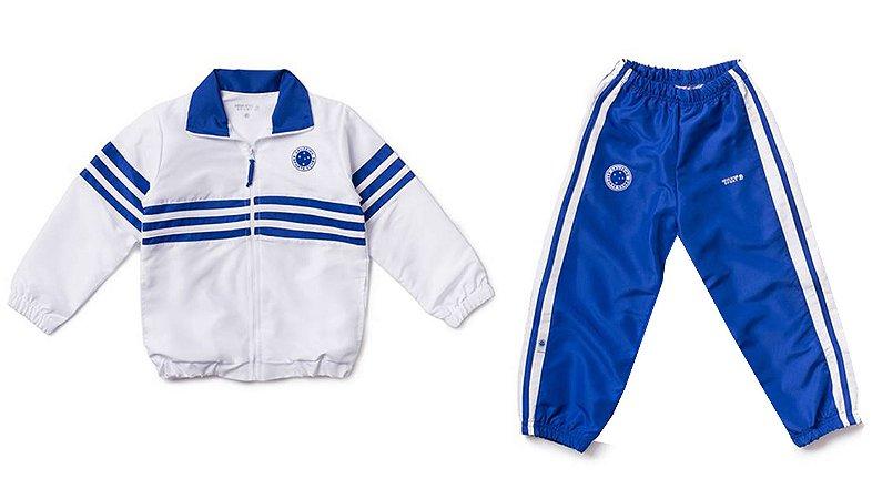 87d70fabf80d7 Agasalho Infantil Cruzeiro Microfibra Oficial - Cia Bebê