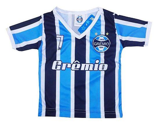 c97cec897d Camisa Bebê Grêmio Listrada Dry Oficial - Cia Bebê