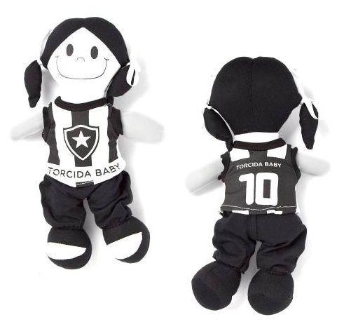 Boneca Torcedora Botafogo 25cm - Torcida Baby