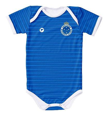 Body Cruzeiro Proteção UV Azul Oficial