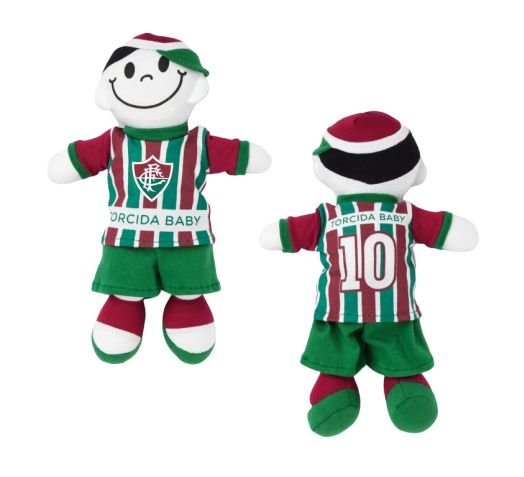 Boneco Torcedor Fluminense 25cm - Torcida Baby