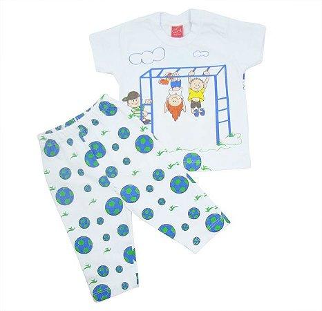 Conjunto Curto Get Baby Azul