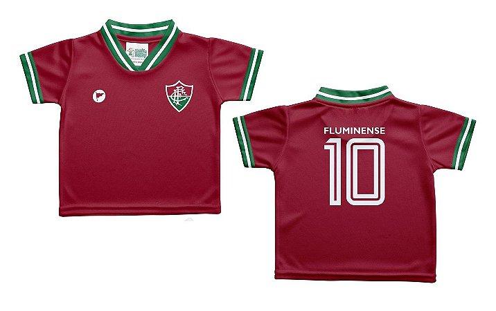 Camiseta Bebê Fluminense Grená - Torcida Baby