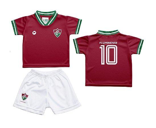 3d8bd68a0b998 Conjunto Infantil Fluminense Uniforme - Torcida Baby