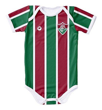 Body Fluminense com Proteção UV Listrado Oficial