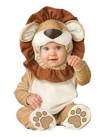 Fantasia Bebê Leão Plush