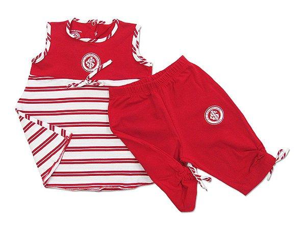 Conjunto Bebê Internacional Bata e Legging Oficial