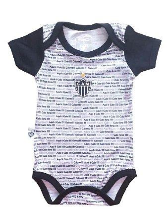 Body Bebê Atlético MG Frases Oficial