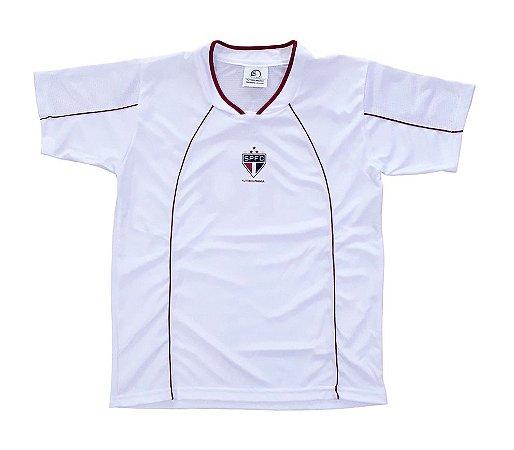 Camiseta São Paulo Infantil Branca Futebol Mania
