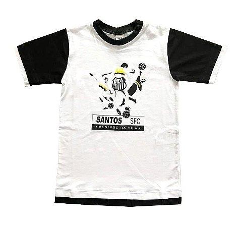 Camiseta Infantil Santos Meninos da Vila Oficial