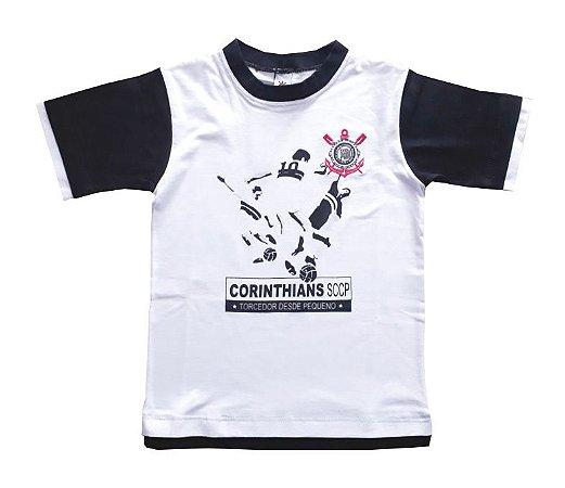 Camiseta Infantil Corinthians Torcedor Oficial