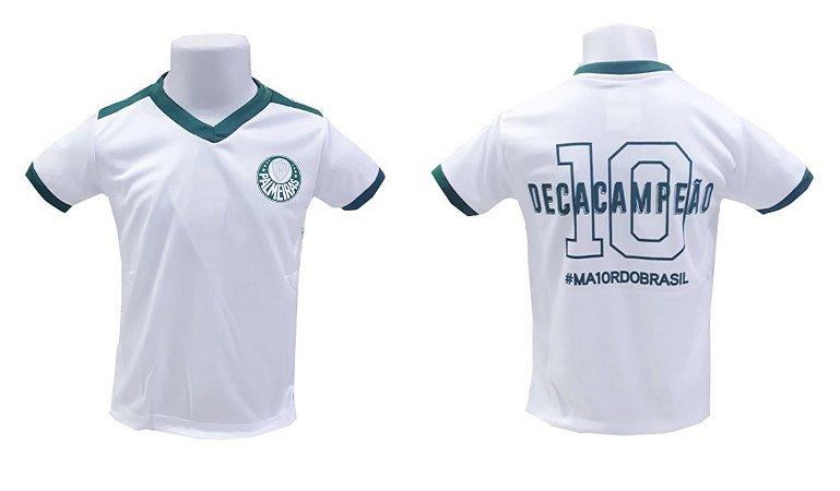 Camiseta Infantil Palmeiras Decacampeão Oficial