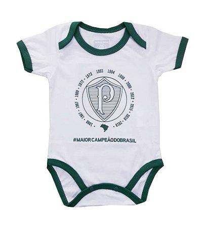 Body Bebê Palmeiras Decacampeão Oficial