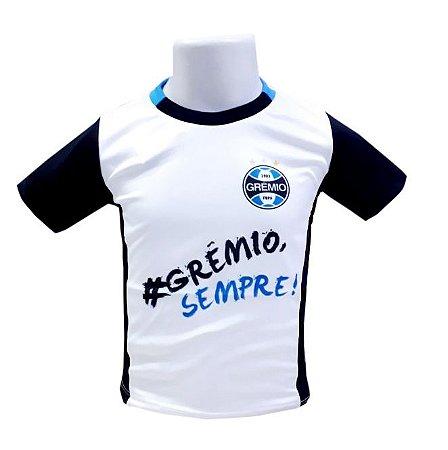 Camiseta Infantil Grêmio Sempre Oficial