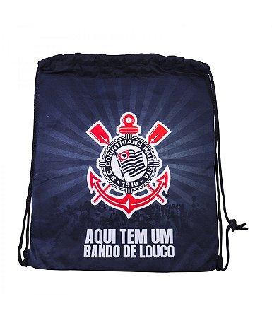 Mochila Tipo Sacola Corinthians Oficial