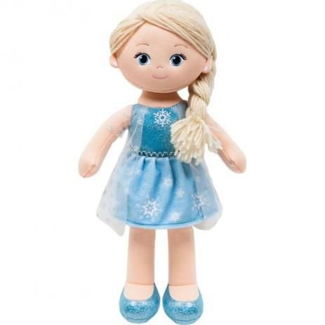 Boneca de Pano Elsa Frozen 44cm Buba