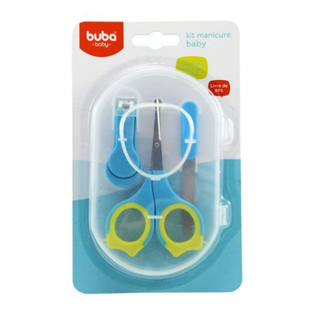 Kit Manicure Baby Azul Buba
