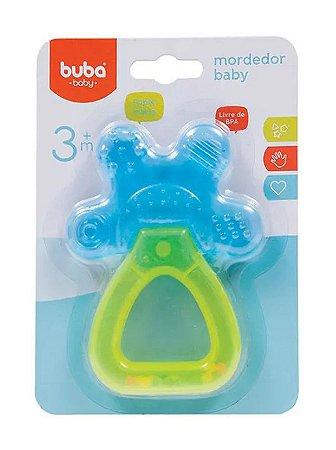 Mordedor e Chocalho Bebê Azul Buba