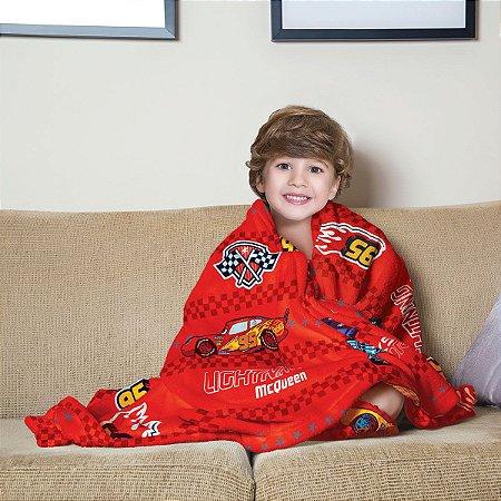 Mantinha Fleece Infantil Carros Lepper