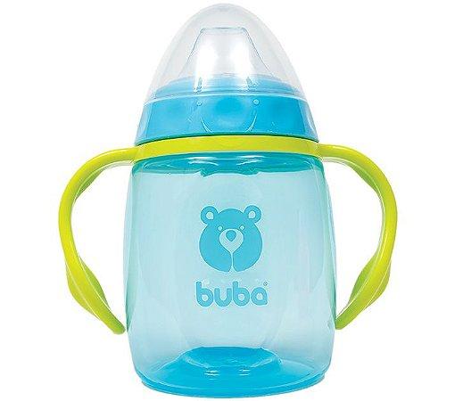 Copinho Infantil com Alça Azul Buba 250 ml