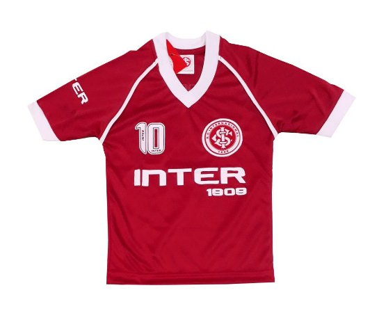 Camisa Infantil Internacional Vermelha Dry Oficial