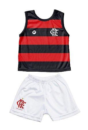 Conjunto Flamengo Bebê Regata - Torcida Baby