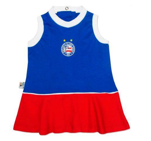 Vestido Bebê BAHIA Regata Oficial