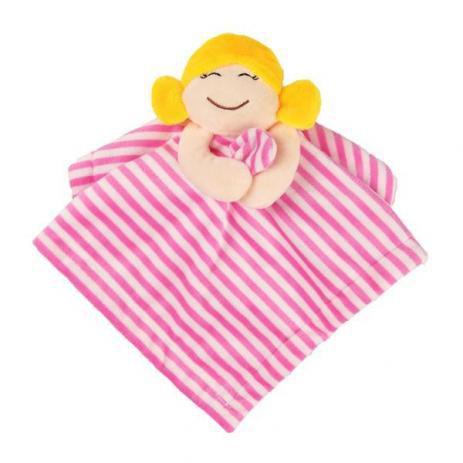 Naninha Bebê Rosa Menina Unik Toys