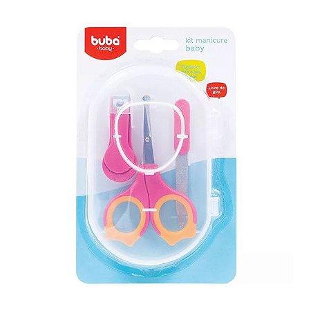 Kit Manicure Baby Rosa Buba