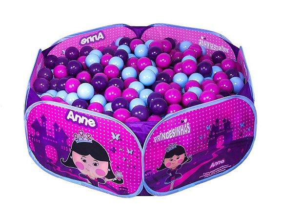 Piscina de Bolinhas Princesinha Anne Unik Toys