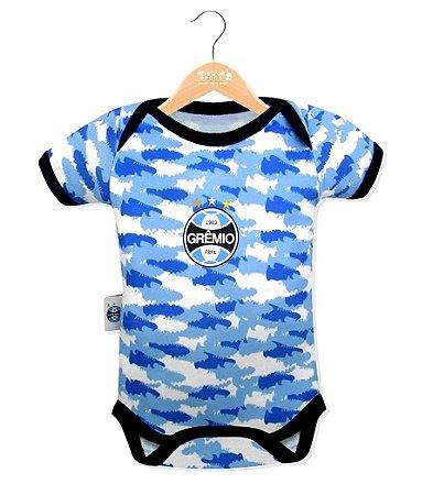 Body Bebê Grêmio Camuflado Oficial