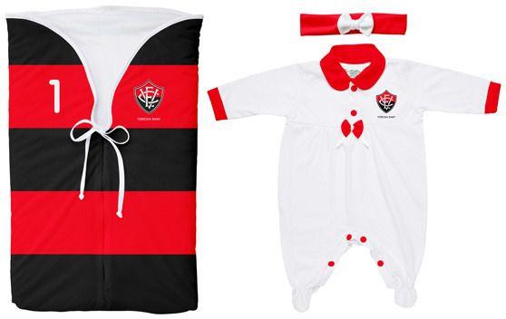 Kit Vitória Saída Maternidade Meninas - Torcida Baby