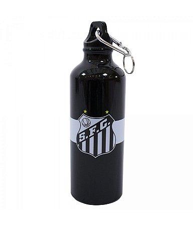 Garrafa De Alumínio Santos Com Prendedor 500ml