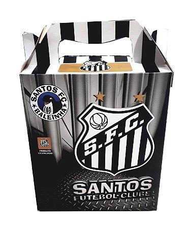 Caixa Para Presente Santos 21x18 Cm Oficial