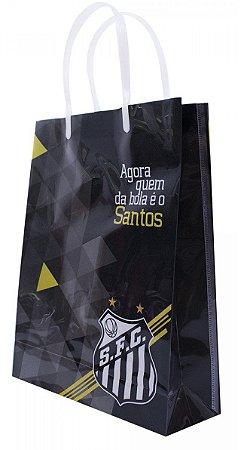 Sacola Para Presentes Santos 22x28 Cm