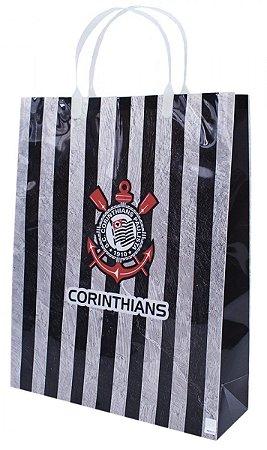 Sacola Para Presentes Corinthians 33x26 cm