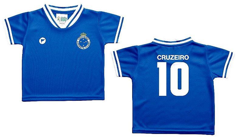 Camiseta Bebê Cruzeiro Azul - Torcida Baby