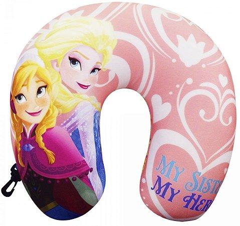 Almofada de Pescoço Anna & Elsa Frozen