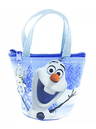 Bolsinha Olaf Porta Moeda Frozen Disney