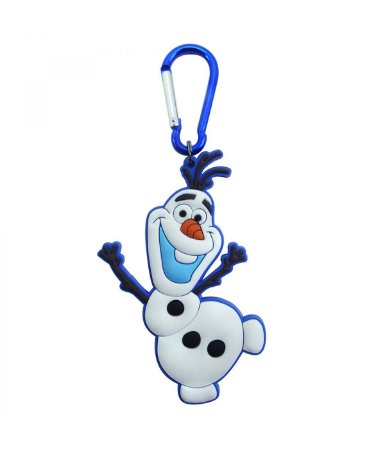 Chaveiro Emborrachado Olaf Dançando Frozen Disney